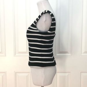 Cache Tops - Cache Striped Back Zip Top 2